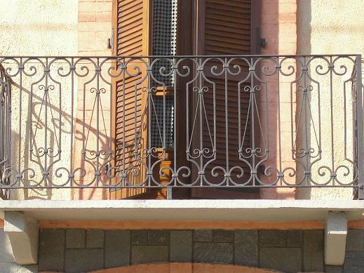 balconi ringhiere in ferro battuto : Pin Ringhiere E Balconi In Ferro Battuto on Pinterest